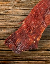 Beef Jerky Unlimited - Bacon Pork Jerky - What's better than pork with a side of bacon?  Nothing!  This is a fan favorite.