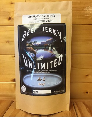 Beef Jerky Unlimited - Thin and Crispy - A-1 Beef Jerky Chips