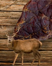 Beef Jerky Unlimited - Venison Jerky - Original We take fresh venison and marinate it in our original, savory flavors. Our venison jerky comes in 3 oz packages.  Our rabbit venison comes in our original flavored marinade and packaged in 3 oz