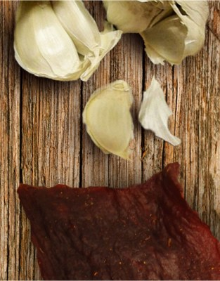 Beef Jerky Unlimited Jerky - Garlic Chicken Jerky - Garlic is an excellent complement to our premium chicken jerky.