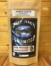 Beef Jerky Unlimited - Thin and Crispy - Nitro Methane Beef Jerky Chips